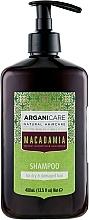 Voňavky, Parfémy, kozmetika Šampón pre suché a poškodené vlasy - Arganicare Macadamia Shampoo