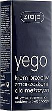 Voňavky, Parfémy, kozmetika Krém proti vráskam pre mužov - Ziaja Anti-wrinkle cream for men
