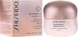 Voňavky, Parfémy, kozmetika Denný krém - Shiseido Benefiance NutriPerfect Day Cream SPF 15