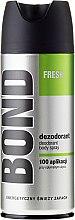 Voňavky, Parfémy, kozmetika Dezodorant - Bond Fresh Deo Spray