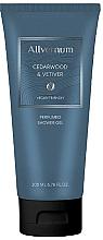 Voňavky, Parfémy, kozmetika Allvernum Cedarwood & Vetiver - Parfumovaný sprchový gél