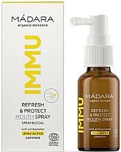 Voňavky, Parfémy, kozmetika Osviežujúci a ochranný ústny sprej - Madara Cosmetics IMMU Refresh & Protect Mouth Spray