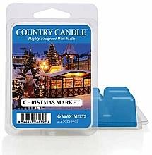 Voňavky, Parfémy, kozmetika Vosk na aromatickú lampu - Country Candle Christmas Market Wax Melts