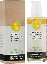 "Voňavky, Parfémy, kozmetika Organický masážny olej ""Citrus"" - Sonnet Citrus Massage Oil"