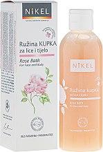 Voňavky, Parfémy, kozmetika Pena do kúpeľa na tvár a telo - Nikel Rose Bath