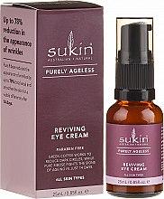 Voňavky, Parfémy, kozmetika Omladzujúci krém na pleť okolo očí - Sukin Purely Ageless Reviving Eye Cream
