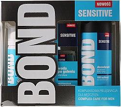 Voňavky, Parfémy, kozmetika Sada - Bond Expert Sensitve (deo/150ml + lotion/100ml + foam/50ml)