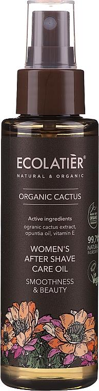 Olej po holení - Ecolatier Organic Cactus Women`s After Shave Care Oil