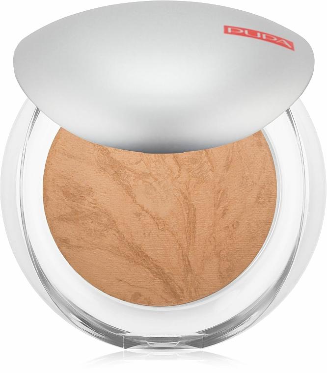 Púder na tvár kompaktný - Pupa Luminys Silky Baked Face Powder