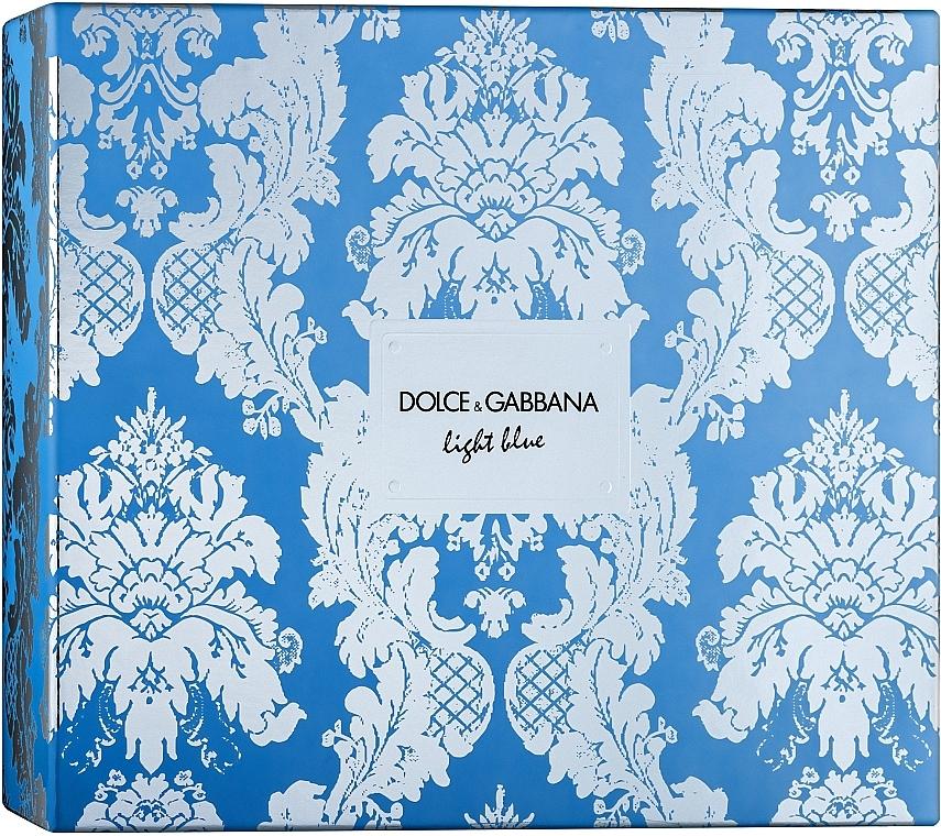 Dolce & Gabbana Light Blue - Sada (edt/100ml + b/cr/50ml + edt/10ml)