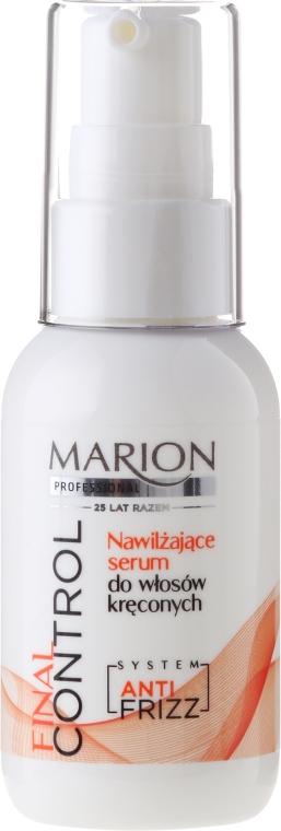 Hydratačné sérum pre kučeravé vlasy - Marion Professional Final Control