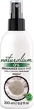 """Voňavky, Parfémy, kozmetika Sprej na telo """"Kokos"""" - Naturalium Body Mist Coconut"""