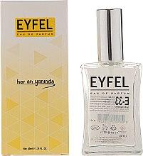 Voňavky, Parfémy, kozmetika Eyfel Perfume E-33 - Parfumovaná voda