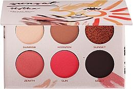 Voňavky, Parfémy, kozmetika Paleta tieňov na viečka - Pierre Rene Eyeshadow Palette Sunset Ustka