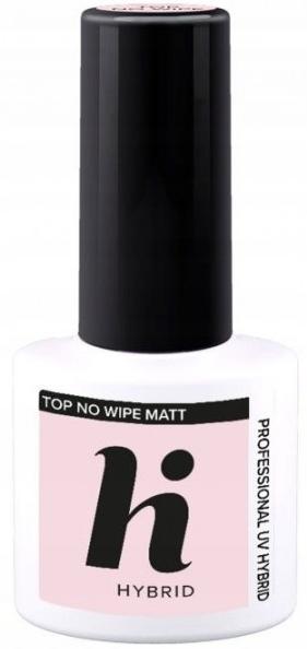 Matný náter na nechty - Hi Hybrid Top No Wipe Matt