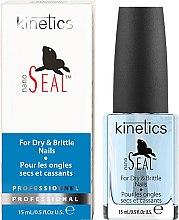 """Voňavky, Parfémy, kozmetika Starostlivosť o suché a krehké nechty """"Seal"""" - Kinetics Nano Seal Nail Treatment"""
