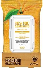 """Voňavky, Parfémy, kozmetika Čistiace utierky na tvár """"Pomaranč"""" - Superfood For Skin Fresh Food Facial Cleansing Wipes"""