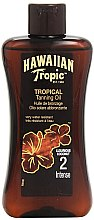 Voňavky, Parfémy, kozmetika Lotion na urýchlenie opálenia - Hawaiian Tropic Sun Tan Oil Intense SPF 2