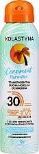Voňavky, Parfémy, kozmetika Transparentný suchý ochranný sprej na tvár a telo - Kolastyna Coconut Paradise SPF30