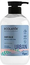 """Voňavky, Parfémy, kozmetika Balzam na všetky typy vlasov """"Kokos a moruša"""" - Ecolatier Urban Hair Balm"""