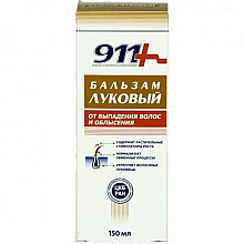 Voňavky, Parfémy, kozmetika Cibuľový balzam proti vypadávaniu vlasov a plešateniu - 911