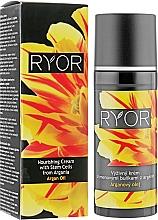 Voňavky, Parfémy, kozmetika Výživný krém s arganovými kmeňovými bunkami - Ryor Argan Oil Nourishing Cream With Argania Stem Cells
