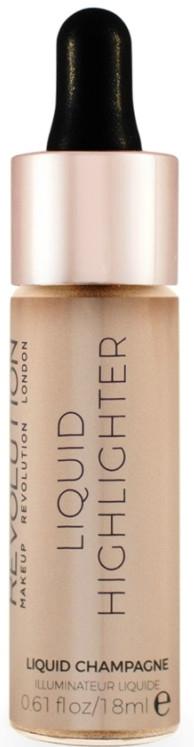 Tekutý rozjasňovač na tvár - MakeUp Revolution Liquid Highlighter — Obrázky N1
