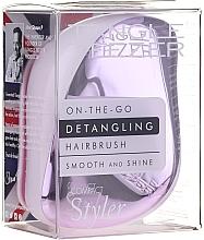 Voňavky, Parfémy, kozmetika Hrebeň vlasy - Tangle Teezer Compact Styler Lilac Gleam
