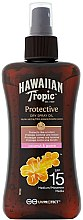 Voňavky, Parfémy, kozmetika Suchý olej na opaľovanie - Hawaiian Tropic Protective Dry Spray Sun Oil SPF 15