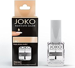 Voňavky, Parfémy, kozmetika Prostriedok na nechty 3 v 1 - Joko Manicure Salon 3 in 1 Top