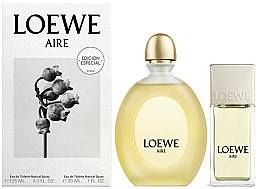 Voňavky, Parfémy, kozmetika Loewe Aire - Sada (edt/125ml + edt/30ml)