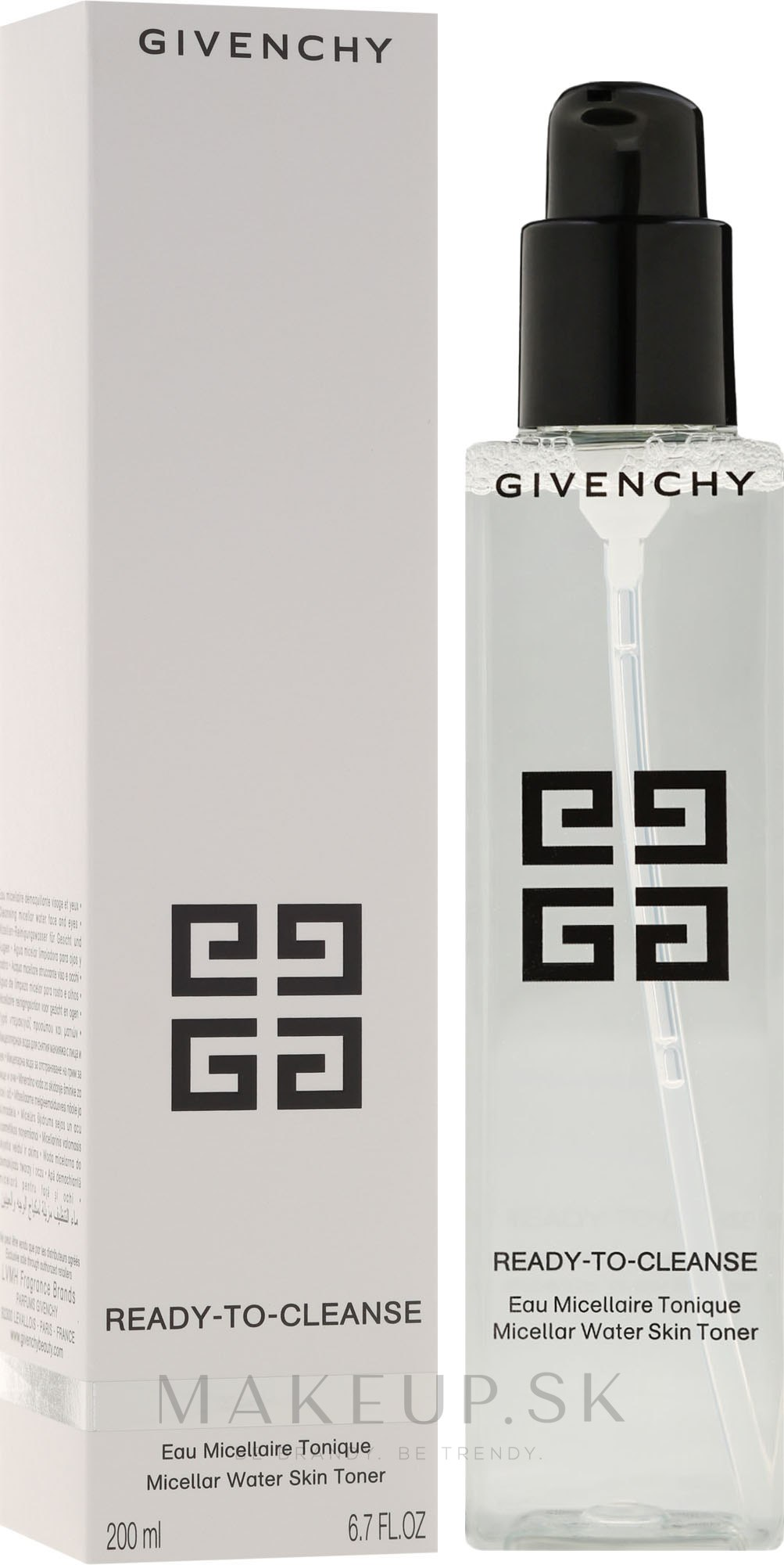 Micelárne tonikum - Givenchy Ready-To-Cleanse Micellar Water Skin Toner — Obrázky 200 ml