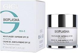Voňavky, Parfémy, kozmetika Hydratačný krém na suchú pleť - Gigi Bioplasma Moist Dry SPF-20