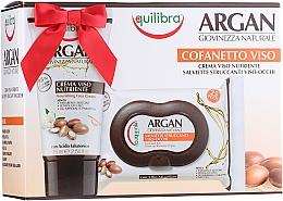 Voňavky, Parfémy, kozmetika Sada - Equilibra Argan (cr/75ml + f/wipes/25pcs)