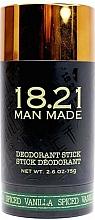 Voňavky, Parfémy, kozmetika Dezodorant na telo - 18.21 Man Made Deodorant Stick Spiced Vanilla