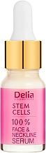 Voňavky, Parfémy, kozmetika Intenzívne anti-aging sérum proti vráskam na tvár a krk s kmeňovými bunkami - Delia Face Care Stem Sells Face Neckline Intensive Serum
