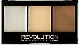 Voňavky, Parfémy, kozmetika Paleta na konturovanie - Makeup Revolution Ultra Contour Kit