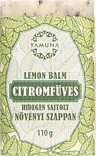 """Voňavky, Parfémy, kozmetika Mydlo lisované za studena """"Citrónová tráva"""" - Yamuna Lemon Balm Cold Pressed Soap"""