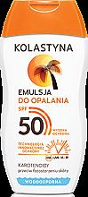 Voňavky, Parfémy, kozmetika Ochranná emulzia na opaľovanie SPF50 - Kolastyna