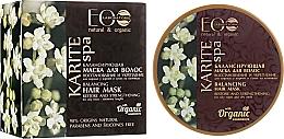 """Voňavky, Parfémy, kozmetika Rovnovážná maska na vlasy """"Obnovenie a posilnenie"""" - ECO Laboratorie Karite SPA Hair Mask"""