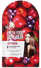 """Voňavky, Parfémy, kozmetika Maska """"Jablko a hrozno"""" na zvlhčenie vlasov - Superfood For Skin Fresh Food For Hair"""