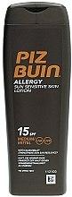 Voňavky, Parfémy, kozmetika Opaľovacie mlieko pre telo - Piz Buin Allergy Sun Sensitive Skin Lotion SPF15
