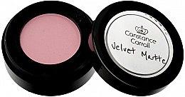Voňavky, Parfémy, kozmetika Matný očný tieň - Constance Carroll Velvet Matte Mono Eyeshadow