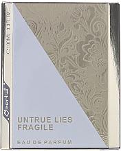 Voňavky, Parfémy, kozmetika Omerta Untrue Lies Fragile - Parfumovaná voda