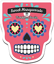 Voňavky, Parfémy, kozmetika Textilná maska na tvár - Dr Mola Sweet Masquarade Red&Pink Fruits mask