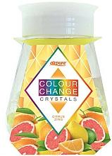 """Voňavky, Parfémy, kozmetika Gélový osviežovač s kryštálmi """"Energia citrusu"""" - Airpure Colour Change Crystals Citrus Zing"""