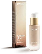 Voňavky, Parfémy, kozmetika Tekutý rozjasňovač - Paese Wonder Glow Liquid Highlighter