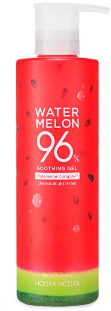 Chladivý hydratačný gél s melónom - Holika Holika Watermelon 96% Soothing Gel