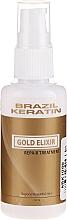 Voňavky, Parfémy, kozmetika Elixír na vlasy - Brazil Keratin Gold Elixir Repair Treatment