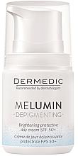 Voňavky, Parfémy, kozmetika Denný krém proti pigmentovým škvrnám - Dermedic MeLumin Depigmenting Cream SPF 50+